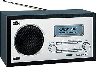 IMPERIAL DABMAN 30 Digitalradio (DAB+ / DAB / UKW, Aux In, inkl. Netzteil) schwarz