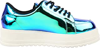 Catwalk Women's Holo Platform Sneakers