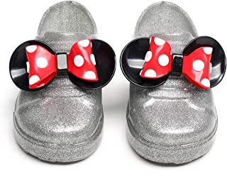 Mickey Mouse Rubber Jelly Shoes Girl Kid 3D Minnie Mouse Rain Boots Cartoon