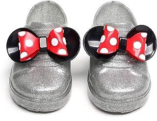 حذاء ميكي ماوس مطاط جيلي حذاء للفتيات والأطفال 3D ميني ماوس أحذية المطر كارتون