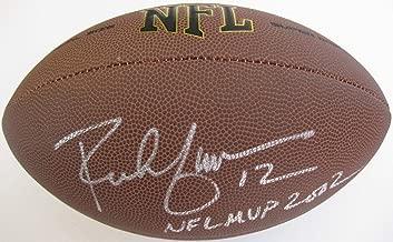 Signed Rich Gannon Football - vikings coa proof - Autographed Footballs