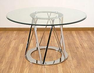 Amazon.es: mesa comedor cristal 130
