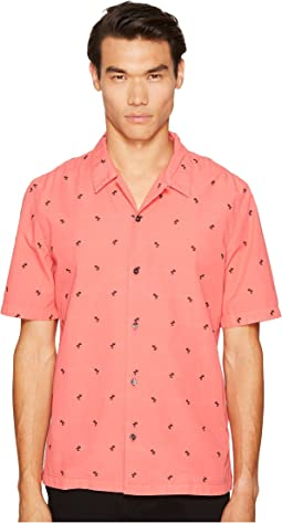 Just Cavalli - Palm Tree Short Sleeve Shirt