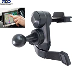 Randconcept GPS air Vent Mount with Metal Spring Clips Compatible with Garmin Nuvi GPS