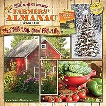 Farmers' Almanac 2017 12 x 12 Inch Square Wall Calendar - Weather, Lore, Wisdom and More