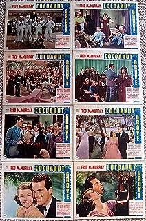 COCOANUT GROVE 1938 LOBBY CARD SET FRED MACMURRAY OZZIE HARRIET HILLIARD