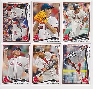 Boston Red Sox 2014 Topps MLB Baseball Regular Issue Complete Mint 27 Card Team Set Xander Bogaerts, Dustin Pedroia, David Ortiz Plus
