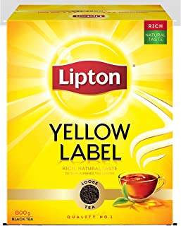 Lipton Yellow Label Black Tea Loose, 800g