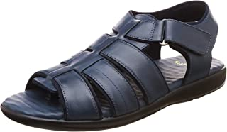 Scholl Men's Aldis Leather Thong Sandals