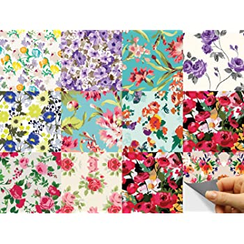 Tile Stickers Tile Picture Flowers Orchid Deco Wellness STICKERS TILES BATHROOM