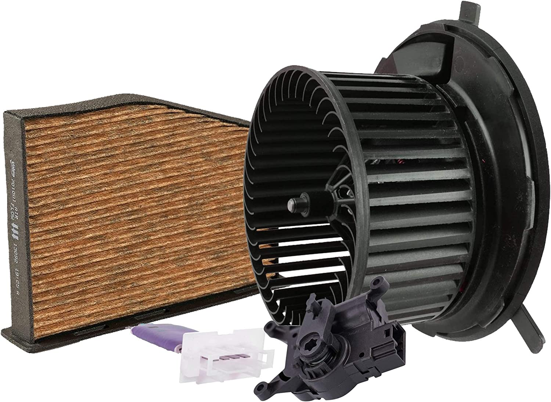 Valeo Blower Motor Resistor Actuator 2021 Kit Filter Air For Cabin Max 90% OFF