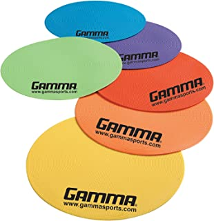 Gamma Sports Poly Spots and Cones, Hi-Vis and Durable Markers for Various Sport, Agility, and Target Training