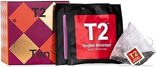 T2 Tea Ten Teabag Gift Pack 10 Bag Sachets, Assorted, 0.7 Ounce