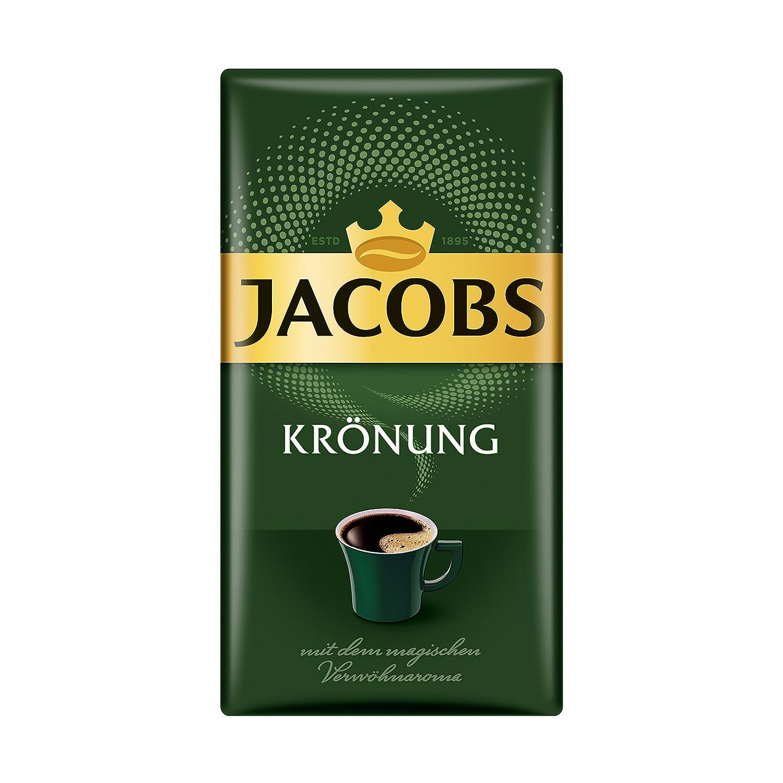 Jacobs Filterkaffee Krönung Klassisch, gemahlener Kaffee, 12er Pack (12 x  500 g) : Amazon.de: Lebensmittel & Getränke
