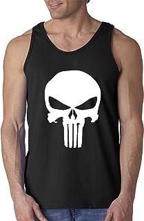vest tank top guns weapons frank castle comic PUNISHER SKULL T-shirt S 5XL