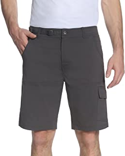 Stretch Cargo 5 Pocket Venture Flat Front Woven Hiking...