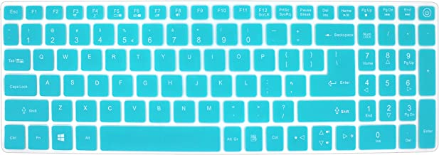 Silicone Keyboard Cover Skin for Acer Aspire V3-574 V3-575 V5-591G E5-573 E5-573G/573T E5-574G E5-575 E5-772 E5-532 ES15 ES1-572 V15 Nitro VN7-592G V17 VN7-792G F15 F5-571 F5-573G /573T (Mint Green)