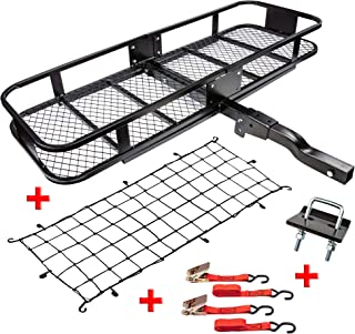 Best carpod hitch mounted cargo carrier basket Reviews