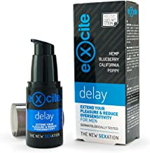 EXCITE Delay Gel retardante para hombre a base de extractos vegetales 20 ml