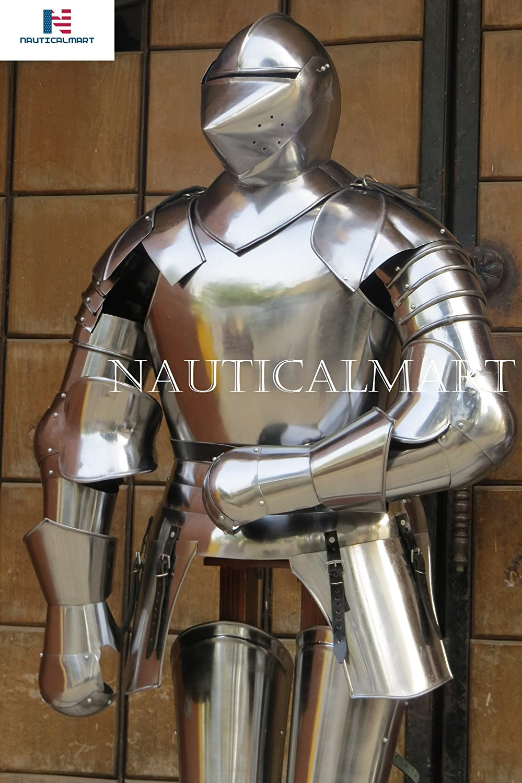 NauticalMart Medieval Combat Suit of San Jose Mall Under blast sales Armor Body Century Arm 15th