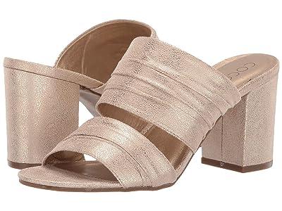 Matisse Radience Block Heel Mule (Gold) Women