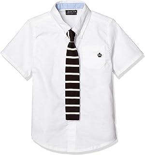 [タキヒヨー] フォーマル タイ付 半袖 シャツ 男の子 342412003