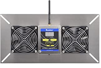 Durablow M2D-SH WiFi Smart Home Remote Crawl Space Ventilator, Humidity, Radon Mitigation, Compatible with Alexa, Google Home, IFTTT