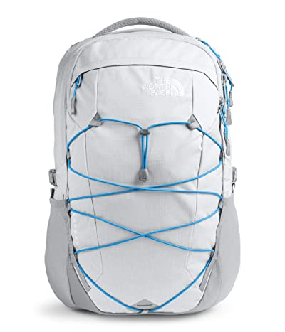 The North Face Borealis (High-Rise Grey Light Heather/Clear Lake Blue) Backpack Bags