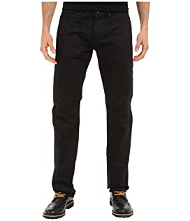 Tapered in Black Selvedge Chino