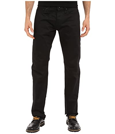 The Unbranded Brand Tapered in Black Selvedge Chino (Black Selvedge Chino) Men