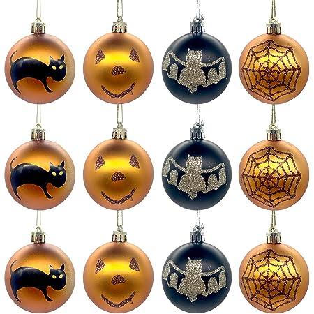 20PCs Halloween Ornament Wall Decor Party Supplies Felt Spiderweb‑Shaped