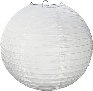 SciencePurchase White Paper Lantern Lamp Shades 12 Pack, 8