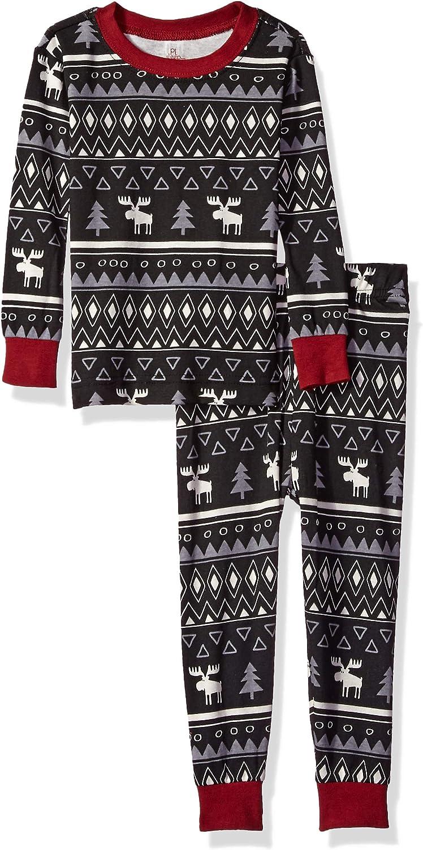 Petit Lem Girls' Holiday Baby Pajama Set, Comfy, Cute and Cozy Softness