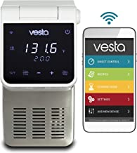 Vesta Precision Imersa Elite Sous Vide Cooker for Precision Cooking Every Time | App Enabled | Precise Temperature Control | Touch Panel