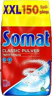 Somat Classic Pulver, Spülmaschinenreiniger, Großpackung, 3 Kg, für die tägliche Reinigung mit brillantem Glanz