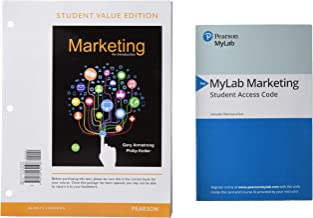 Marketing: An Introduction, Student Value Edition + 2019 MyLab Marketing with Pearson eText -- Access Card Package (13th Edition)