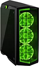 SilverStone Technology PM01B-RGB ATX Tower Case with RGB LED Fan Guards and Tempered Glass Glossy Black