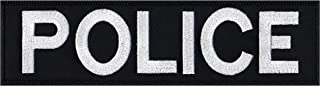 Vest Jacket Police Name Plate Id Tag Cosplay Art Patch
