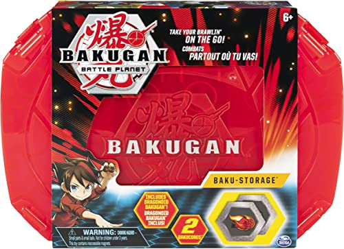 discount Bakugan, new arrival new arrival Baku-Storage Case (Red) Collectible Creatures, for Ages 6 and Up online sale