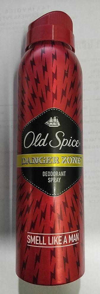 振る舞い突撃インポートOld Spice Deodorant Spray - 150 ml (Danger Zone) - India
