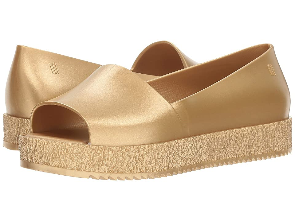 Melissa Shoes Puzzle (Gold Glitter) Women