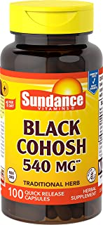 Sundance Black Cohosh 540 mg, 100 Count