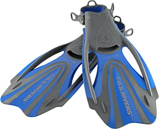 U.S. Divers Proflex Fx Fin Medium, Blue, Medium 7-10