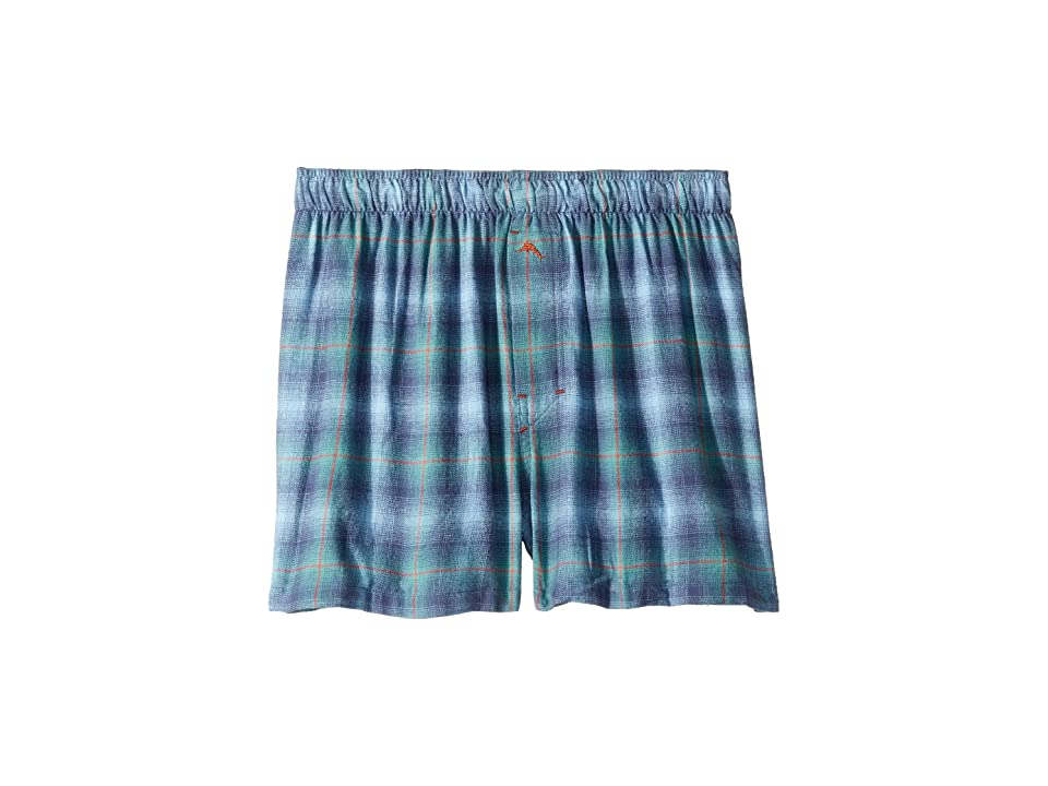 Tommy Bahama - Tommy Bahama Plaid Flannel Boxer Shorts