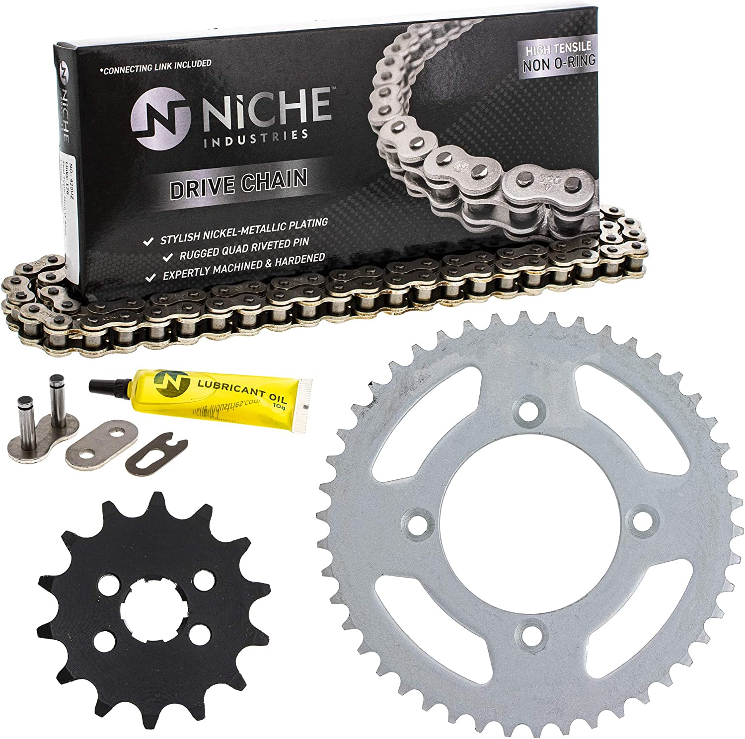 NICHE Drive Sprocket store Chain Combo for OFFicial site CRF80F Honda Front XR80R 14