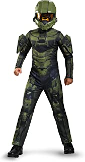 red halo master chief costume