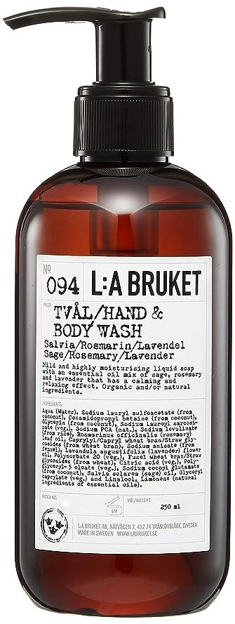 コーヒー息を切らして価値のないL:a Bruket (ラ ブルケット) ハンド&ボディウォッシュ (セージ?ローズマリー?ラベンダー) 250g