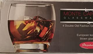 Pasabahce Monte Carlo Verrerie 11 1/2oz Double Old Fashion Glasses Set of 4