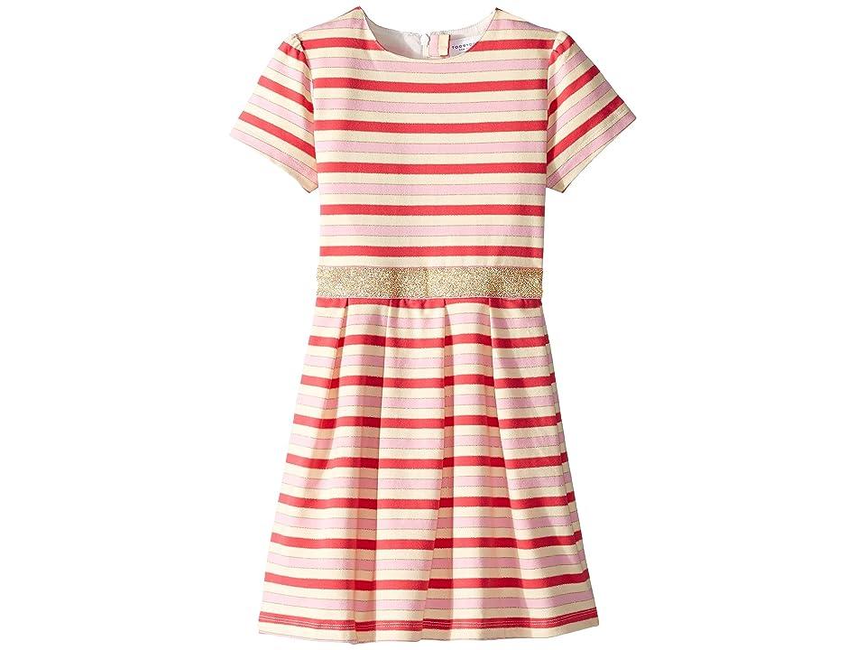 Toobydoo Party Dress (Toddler/Little Kids/Big Kids) (Multi) Girl
