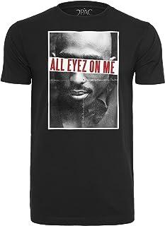 Mister Tee 2pac All Eyez On Me Camiseta de Manga Corta para Hombre
